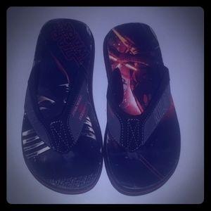 NWOT SKECHERS Star Wars Boys Flip Flops